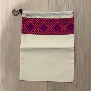 Tory Burch canvas pouch